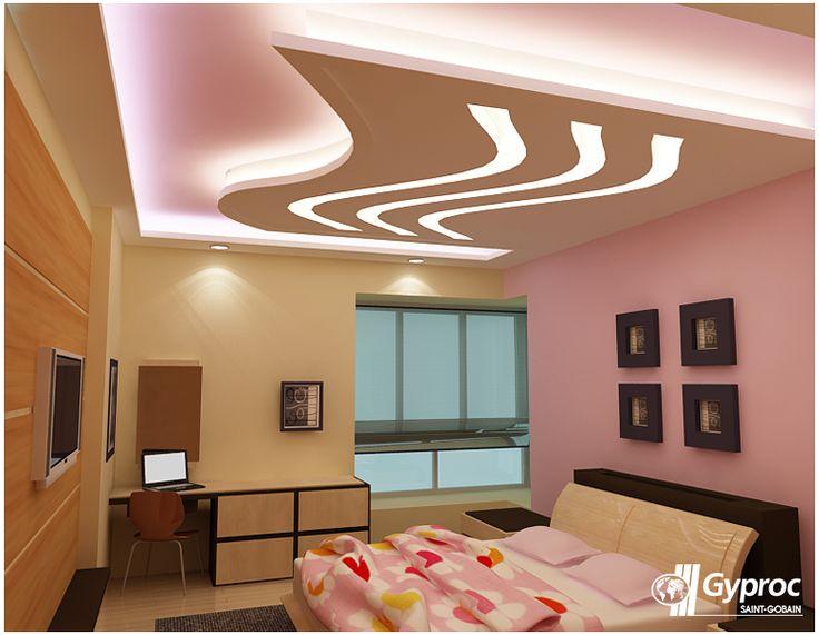 44 Desain Plafon Kamar Tidur Modern dan Cantik ~ Rumah ...