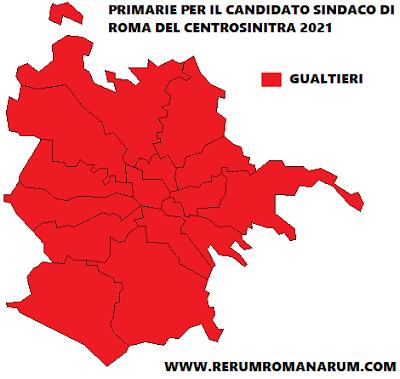 Primarie Sindaco 2021 mappa