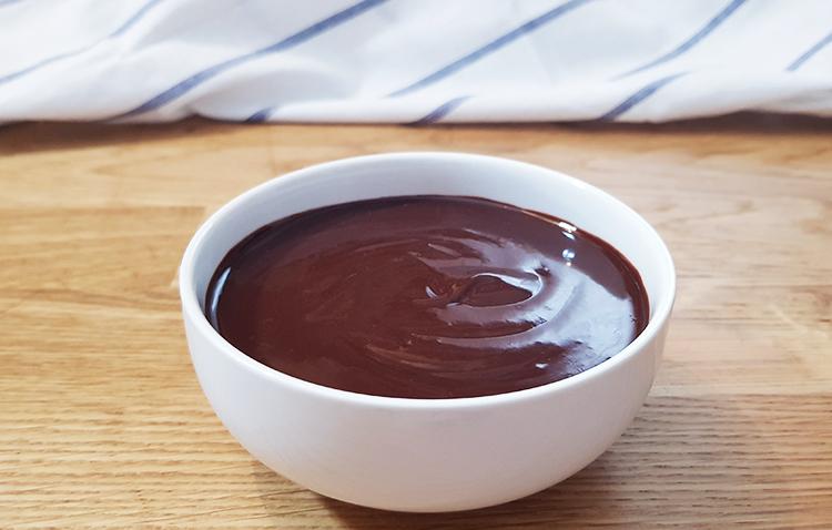 Recette ganache au chocolat