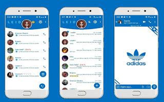 Adidas Theme For YOWhatsApp & Fouad WhatsApp By Leidiane