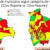 Los municipios en riesgo alto por contagio de Covid-19 suben de 116 a 147 en una semana