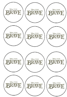 Brave birthday printables