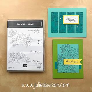 "16 Alternative ""Get & Go"" Project Ideas ~So Much Love Cards ~ www.juliedavison.com #stampinup"