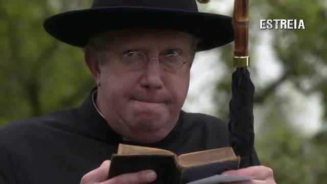 Vídeo: Chamada de estreia na TV Cultura de 'Padre Brown', série da BBC protagonizada por Mark Williams | Ordem da Fênix Brasileira