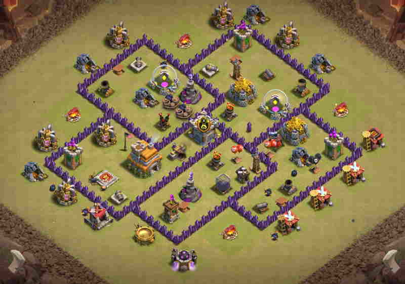 Best Th7 War Bases Anti Everything 17 With Link 2021 Exblogging