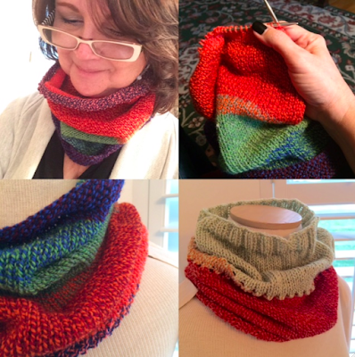 Creative Designs by Sheila Zachariae: Free Pattern - Mill Ends Cowl