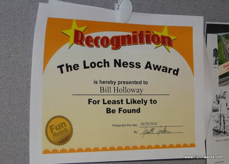 Comedy Business: Funny Employee Awards - 101 Funny Employee