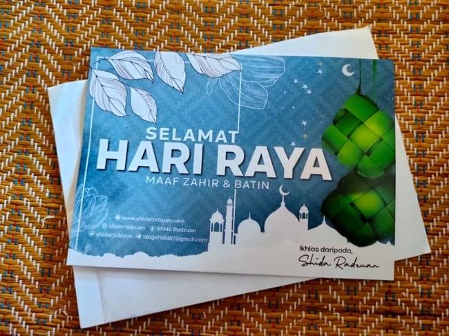 Hadiah Giveaway Dari Shida Radzuan Dah Sampai