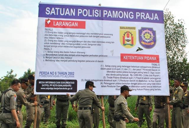 Lokalisasi Pembatuan Banjarbaru Ditutup, Yakin Tak Beroperasi Lagi?