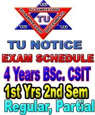 BSC CSIT Exam notice
