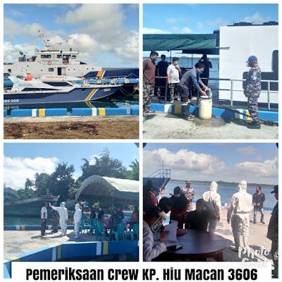 Pemeriksaan kru KP Hiu Macan di Pelabuhan PPN Tual
