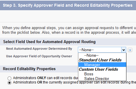 SimplySfdc com: Salesforce: Approval Process - Who can approve ?