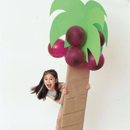 Cardboard Palm Tree Craft