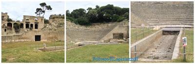 Teatro costruito alla greca con vasca centrale