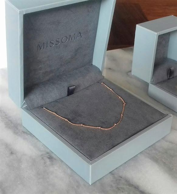 Missoma - Gold Vermeil Bobble Chain - £79.00