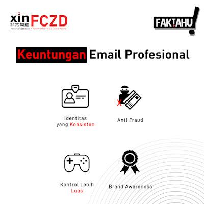 Keuntungan Email Professional