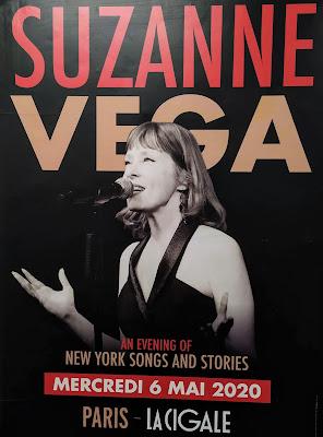 Suzanne Vega in Paris