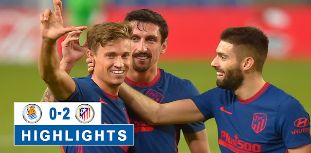 Real Sociedad vs Atlético Madrid – Highlights