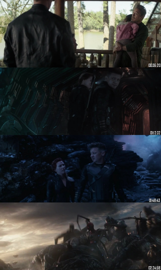 Avengers Endgame 2019 English 720p BRRip 1.3GB ESubs