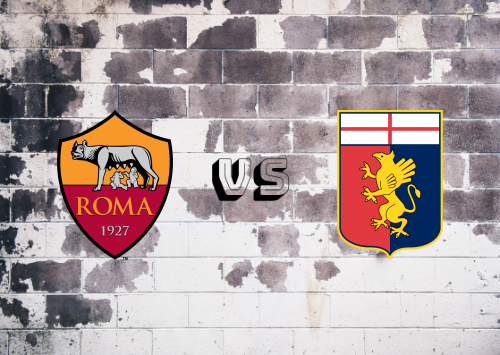 Roma vs Genoa  Resumen