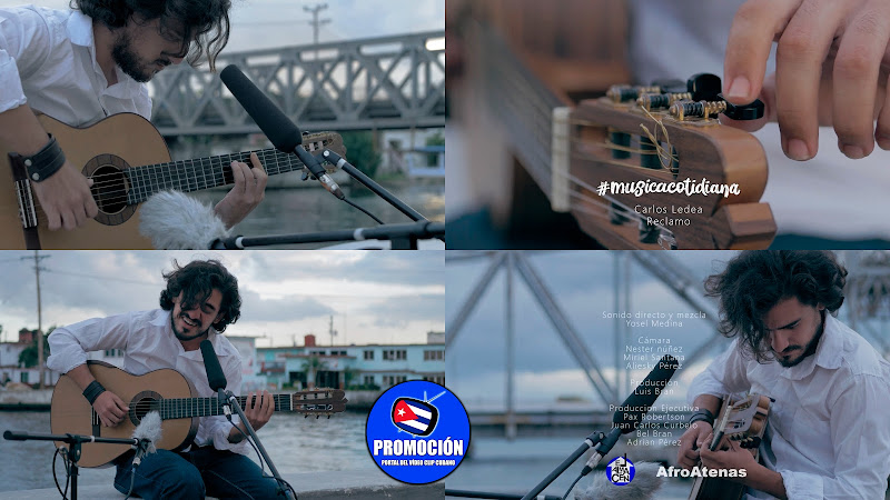 Carlos Ledea - ¨Reclamo¨ - Videoclip - Producciones El Almacén - AfroAtenas. Portal Del Vídeo Clip Cubano. Música cubana. Tovador. Guitarra. #musicacotidiana Cuba.