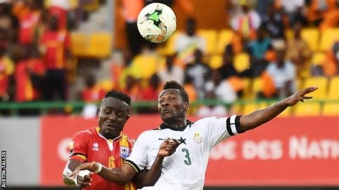 AFCON 2017: Ayew gives Ghana win over Uganda: Ghana 1- 0 Uganda