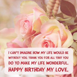 Cute Birthday Wishes Images for Wife