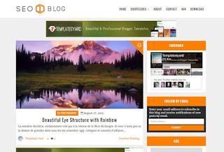 Seo Blog Blogger Template