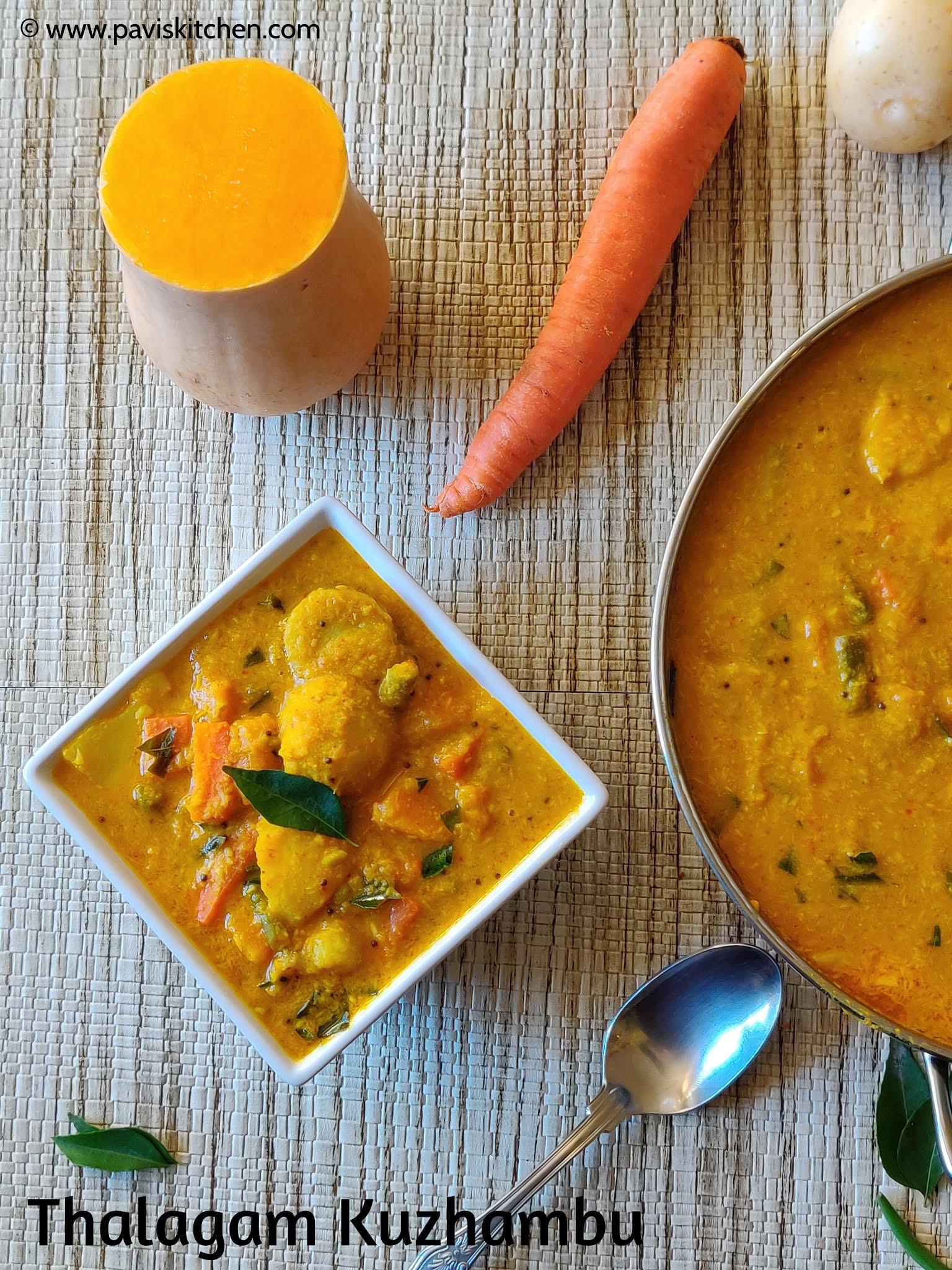 Thiruvathirai thalagam kuzhambu recipe   Ezhukari Kootu recipe   7 Kari kootu recipe   kali recipe