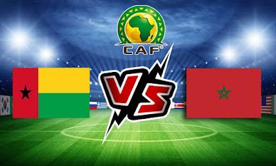 المغرب و غينيا بيساو بث مباشر