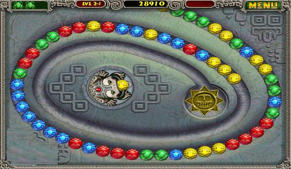 تحميل لعبة zuma deluxe للكمبيوتر