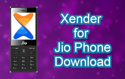 Xender for Jio Phone