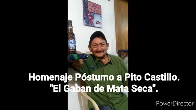 "APURE: Homenaje Póstumo a Pito Castillo ""El Gabán de Mata Seca"". (Video de sus Jocosidades)."