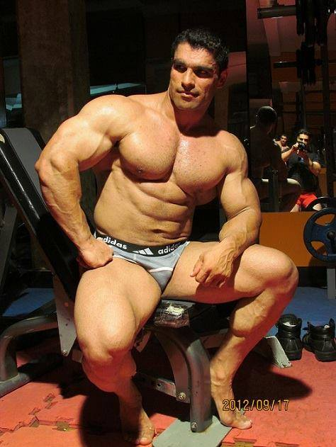 Muscle Lover Persian muscle monster Ali Asghar Kaboli