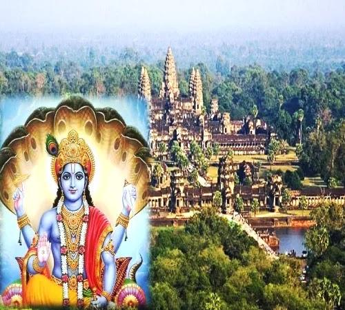 विश्व के सबसे बड़ा विष्णु मंदिर कहां स्थित हैं जानिए