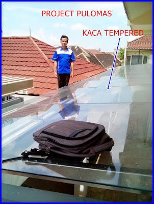 Proyek Kaca temper pulomas Djakarta Truss