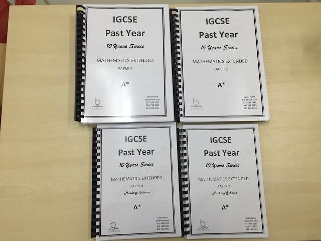 IGCSE Past Papers - mr sai mun