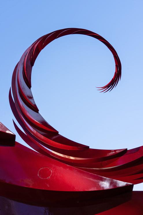 Sculpture-Calatrava-Chicago-escultura-river-point