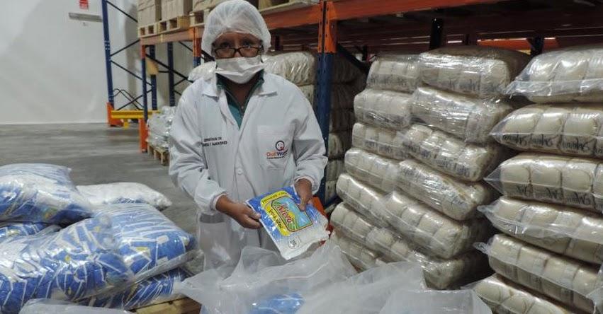 QALI WARMA: En Junín concluyó liberación de lotes de productos en almacenes de proveedores - www.qaliwarma.gob.pe