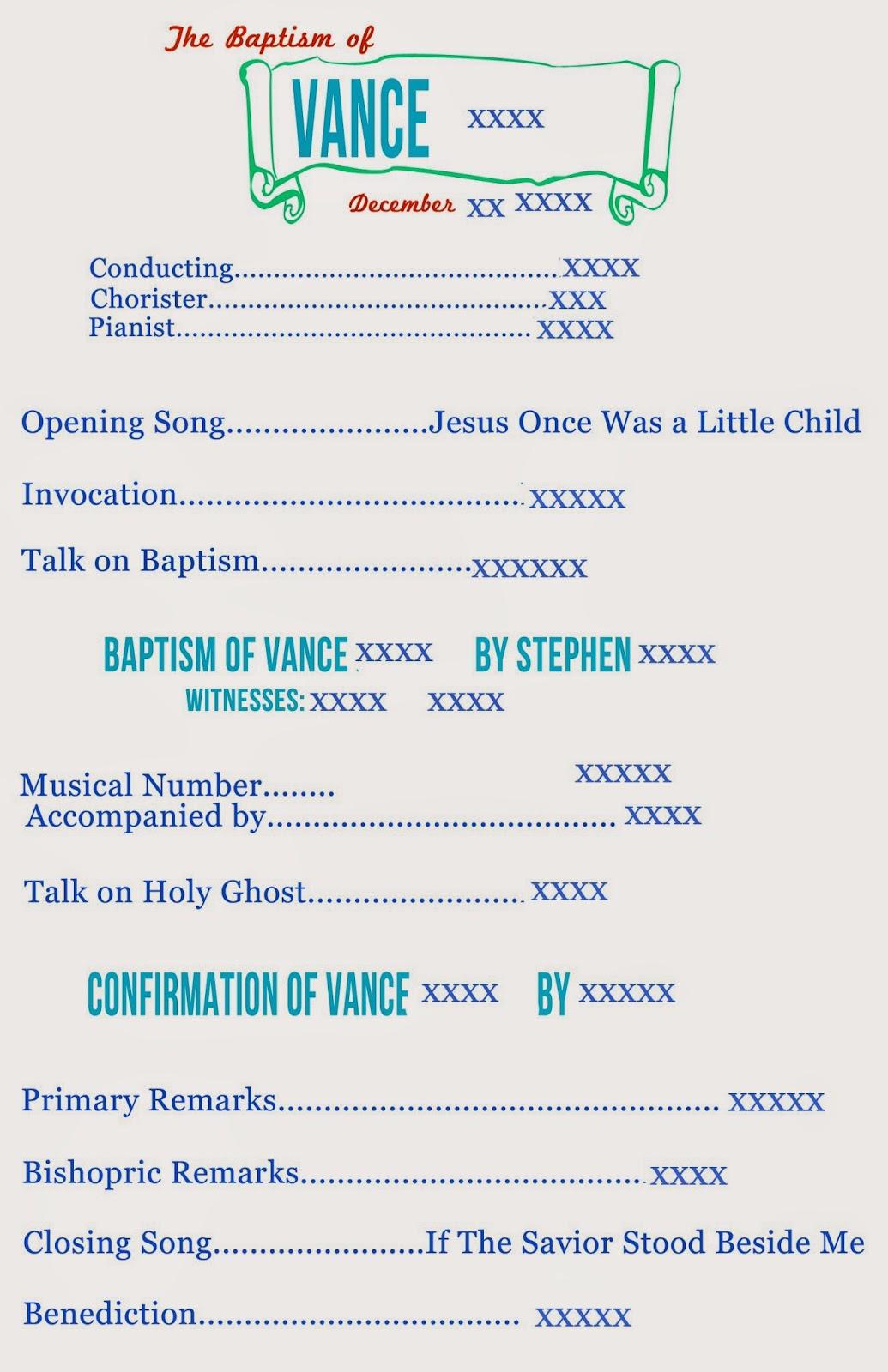 This LDS Mom Baptism Ideas