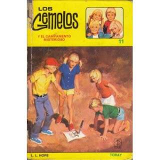 Los gemelos y el campamento misterioso cubierta