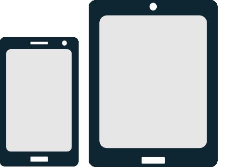 Solo para smartphone o tablets