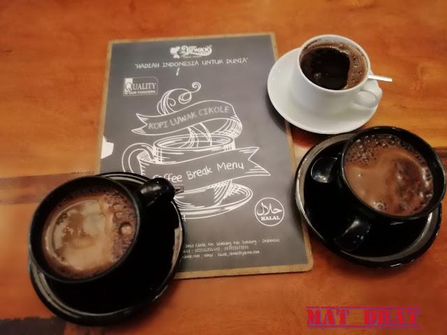 Bercuti Bandung Kopi Luwak Cikole Lembang