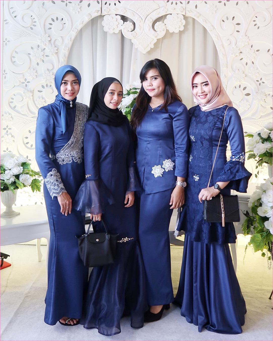 Outfit Baju Bridesmaid Berhijab Ala Selebgram 2019