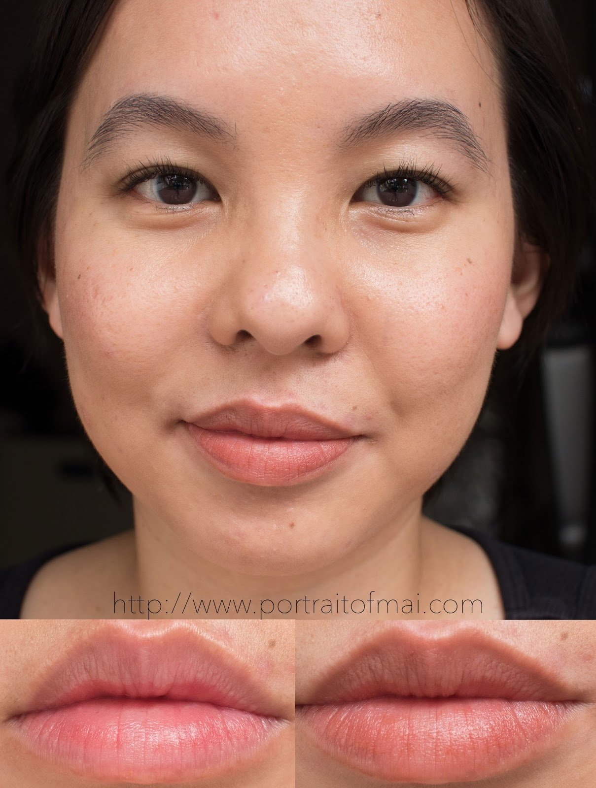 Glossier Generation G Lipstick in Leo Swatch