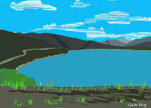 Anggi lake in Arfak mountains
