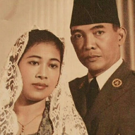Fatmawati dan Kisah Cintanya bersama Bung Karno