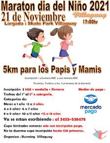 Maratón día del Niño 2021 Villaguay - Entre Rios