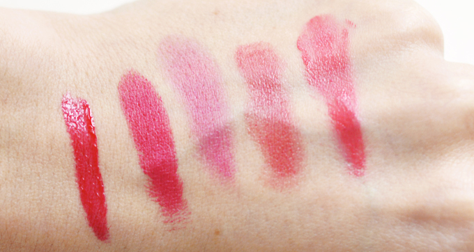lipstick swatches lily lolo passion pink ilia beauty jump rms beauty sacred