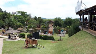 Quinta do Olivardo: lugar aprazível para almoçar nos fins de semana.